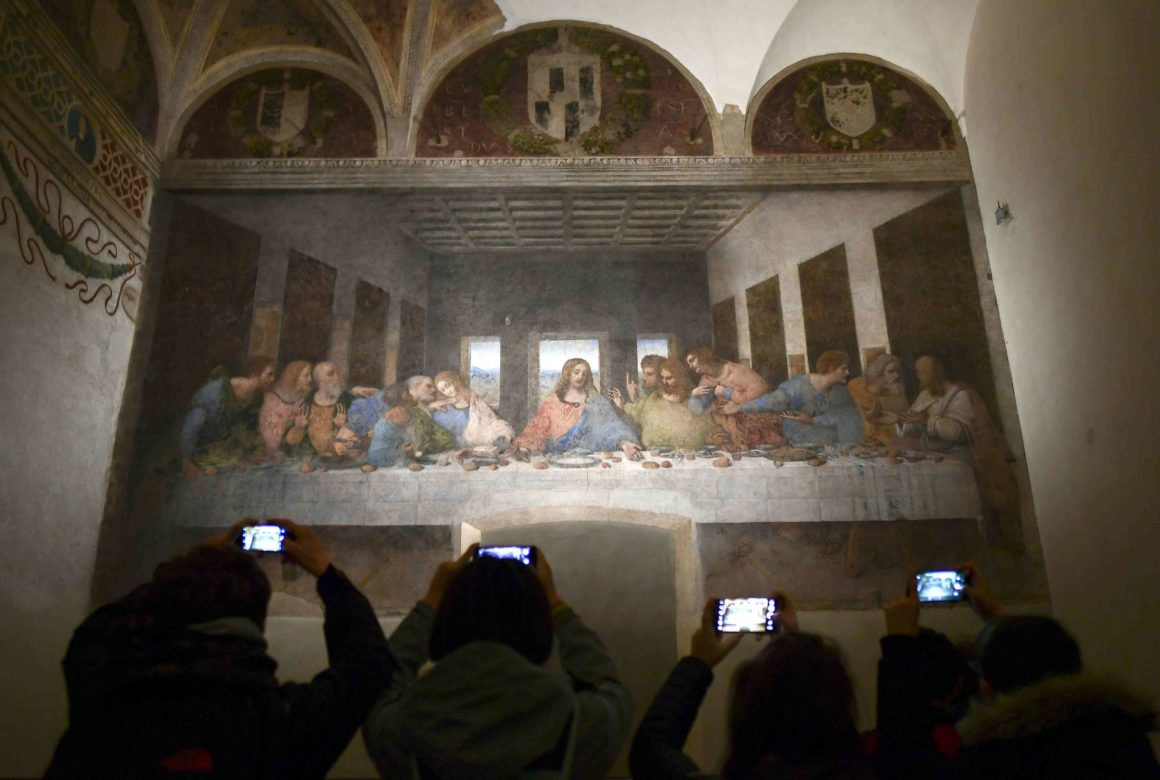 10 самых известных картин: Тайная вечеря