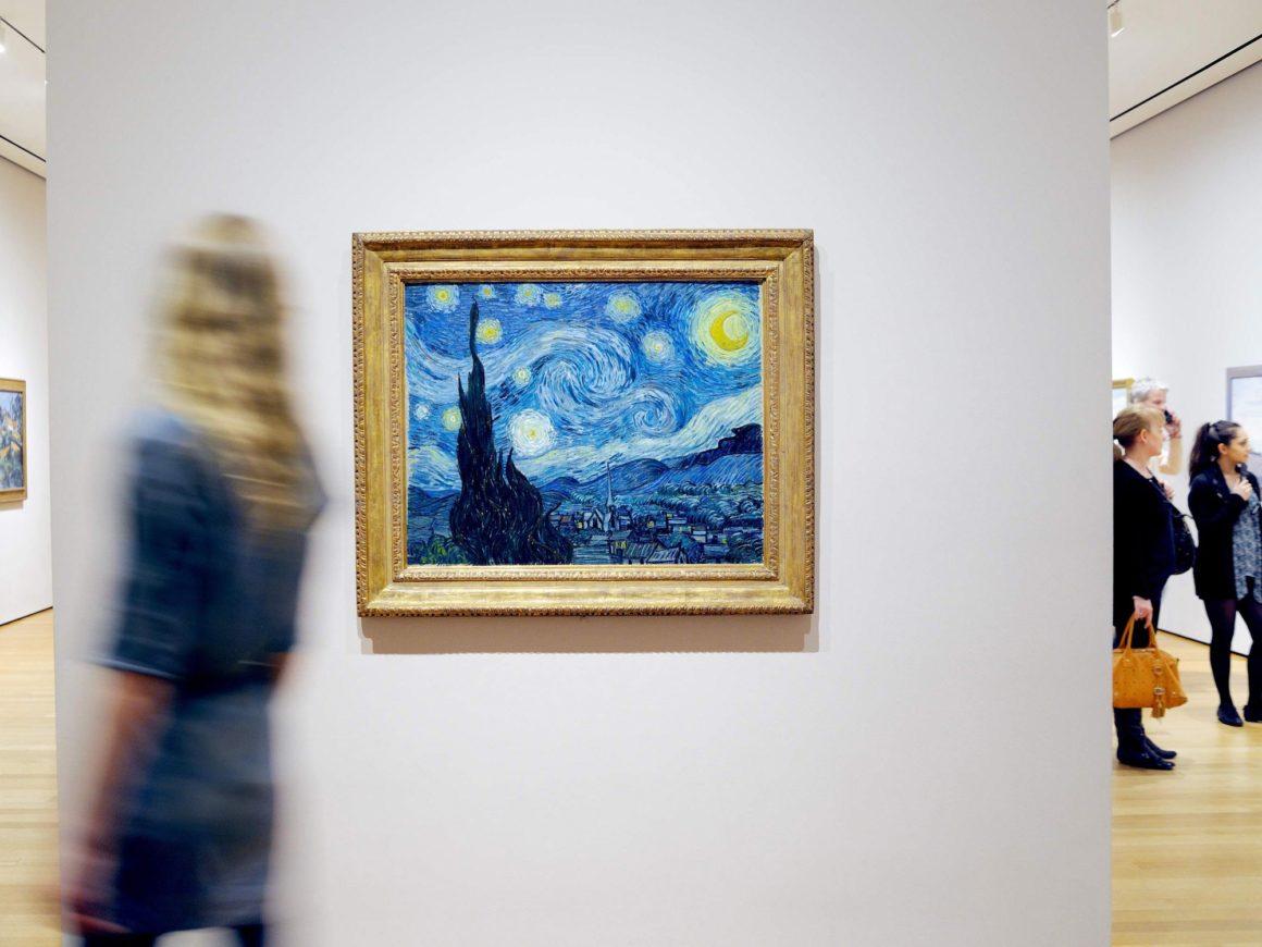 10 самых лучших картин в мире: Звездная ночь