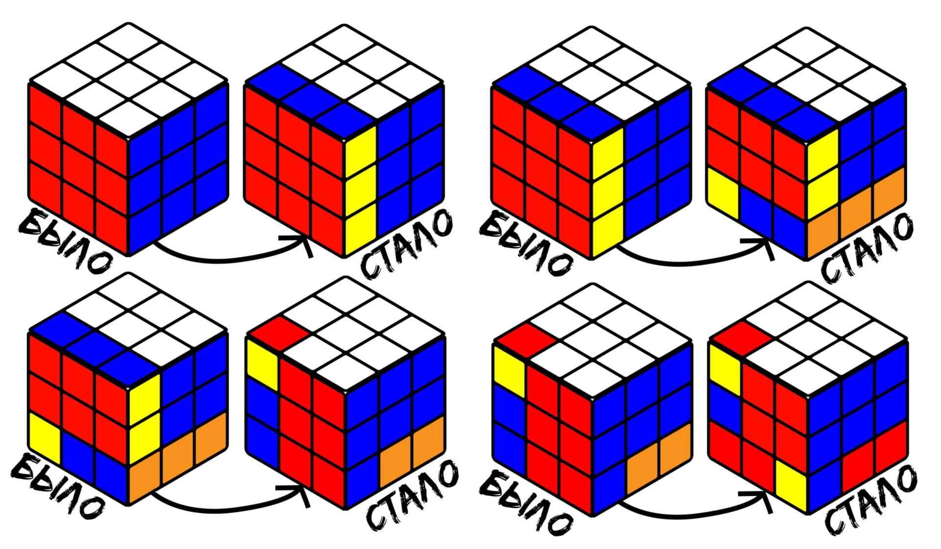 Кубик Рубика для углов