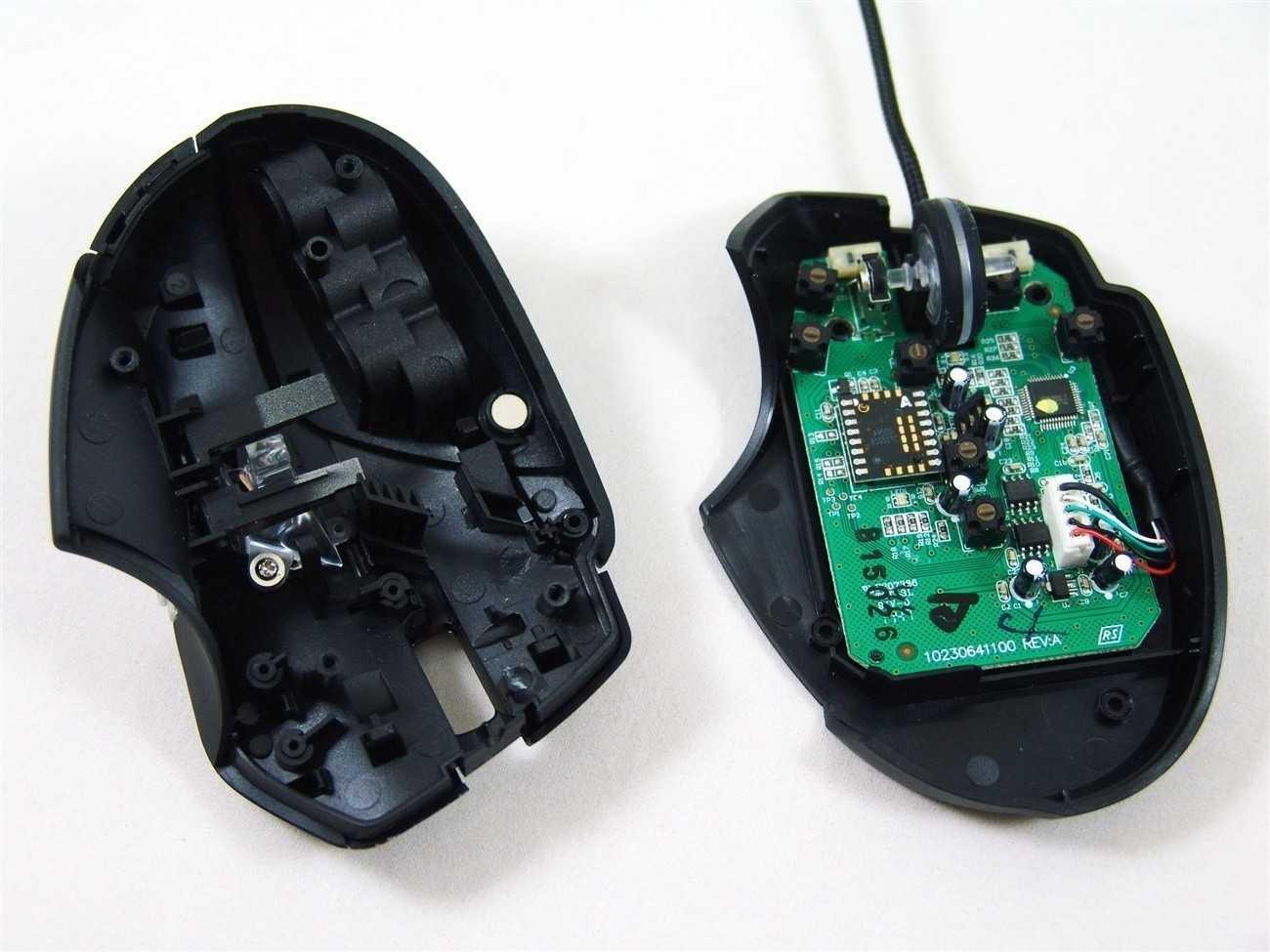Мышка светится, но курсор не работает
