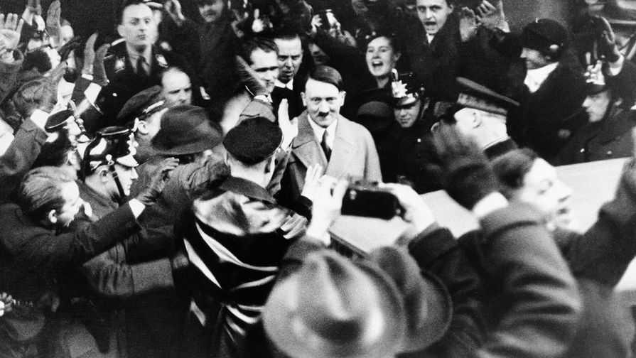 Гитлер во Второй Мировой войне