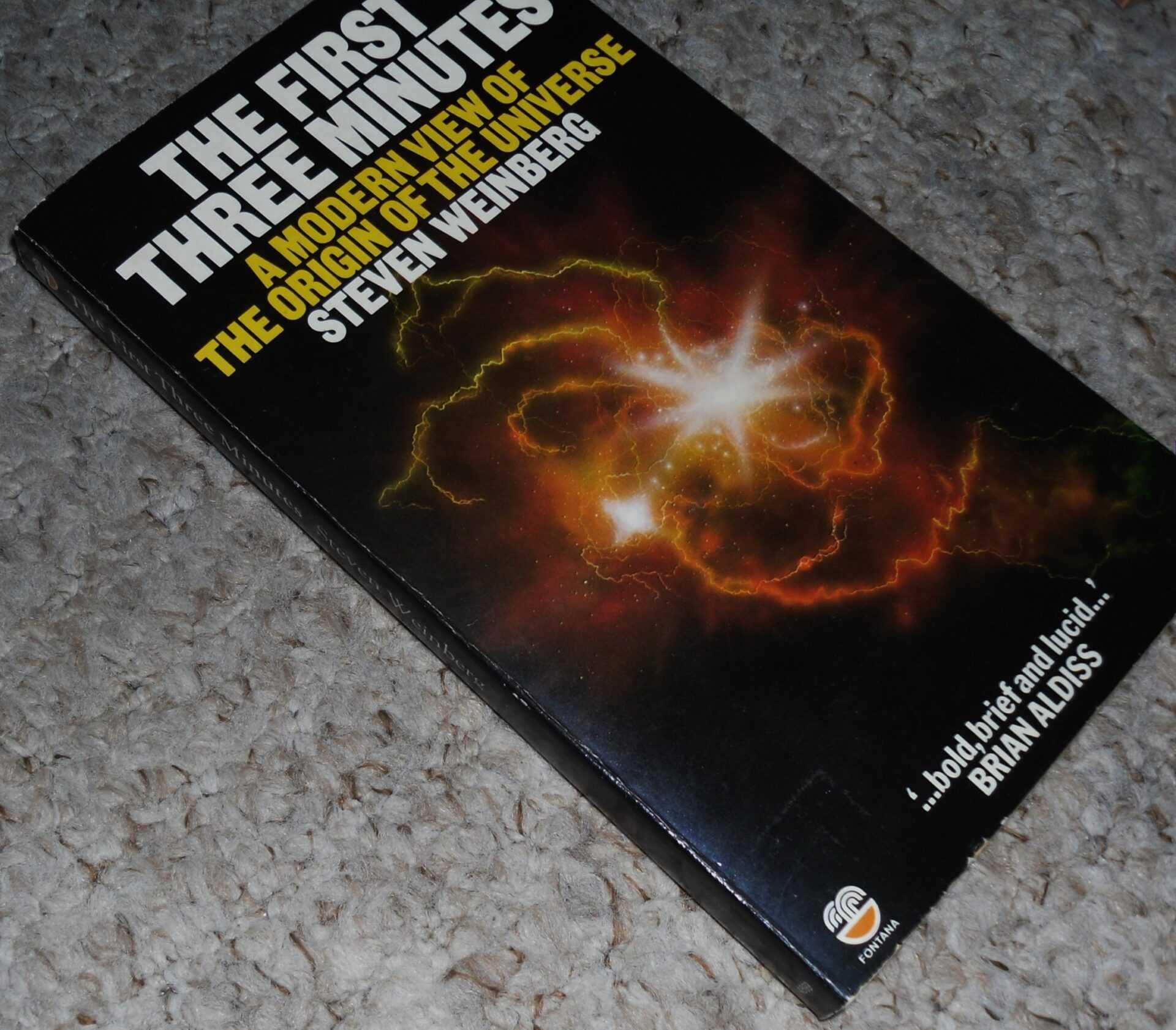 Книга первые три минуты Стивен Вайнберг