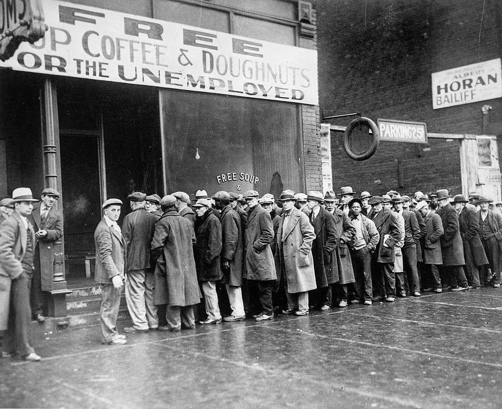Великая депрессия и перепроизводство