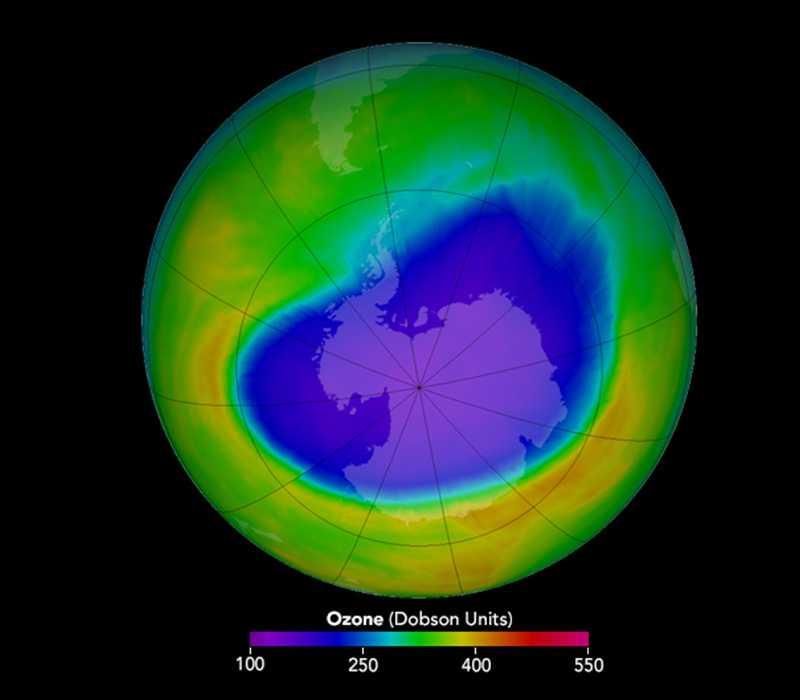 Как и когда умрет человечество: разрушение озонового слоя Земли