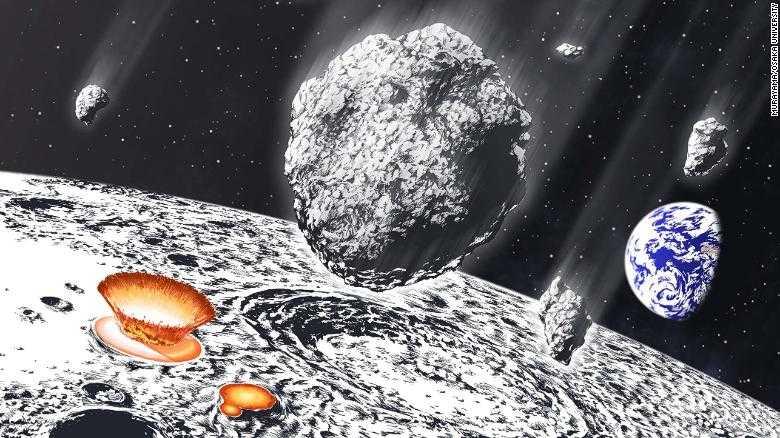 Метеоритная бомбардировка: как появилась вода на Земле
