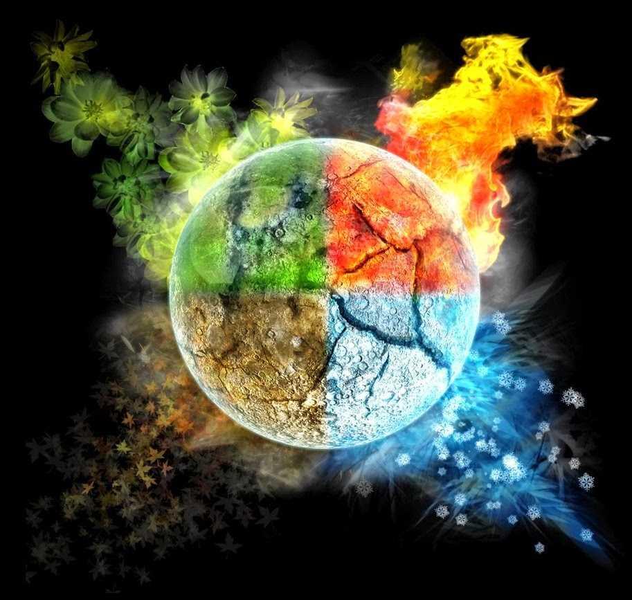 Эмпедокл и 4 стихии: земля, воздух, вода, огонь