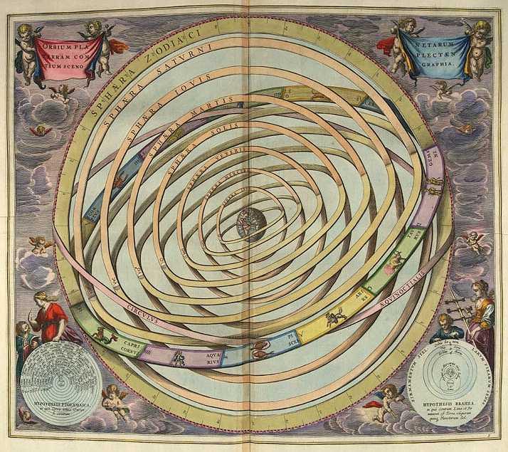 Птолемей и его геоцентрическая модель мира