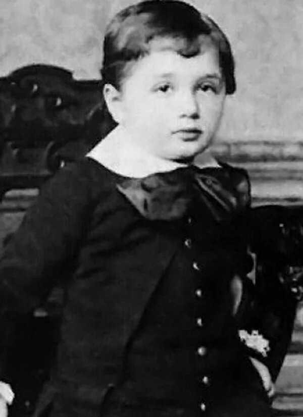 Альберт Эйнштейн: юные годы