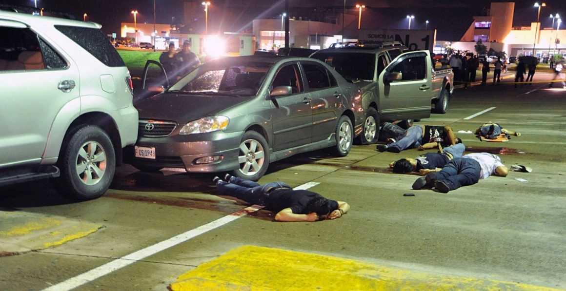 Уровень преступности в Сан-Педро-Сула