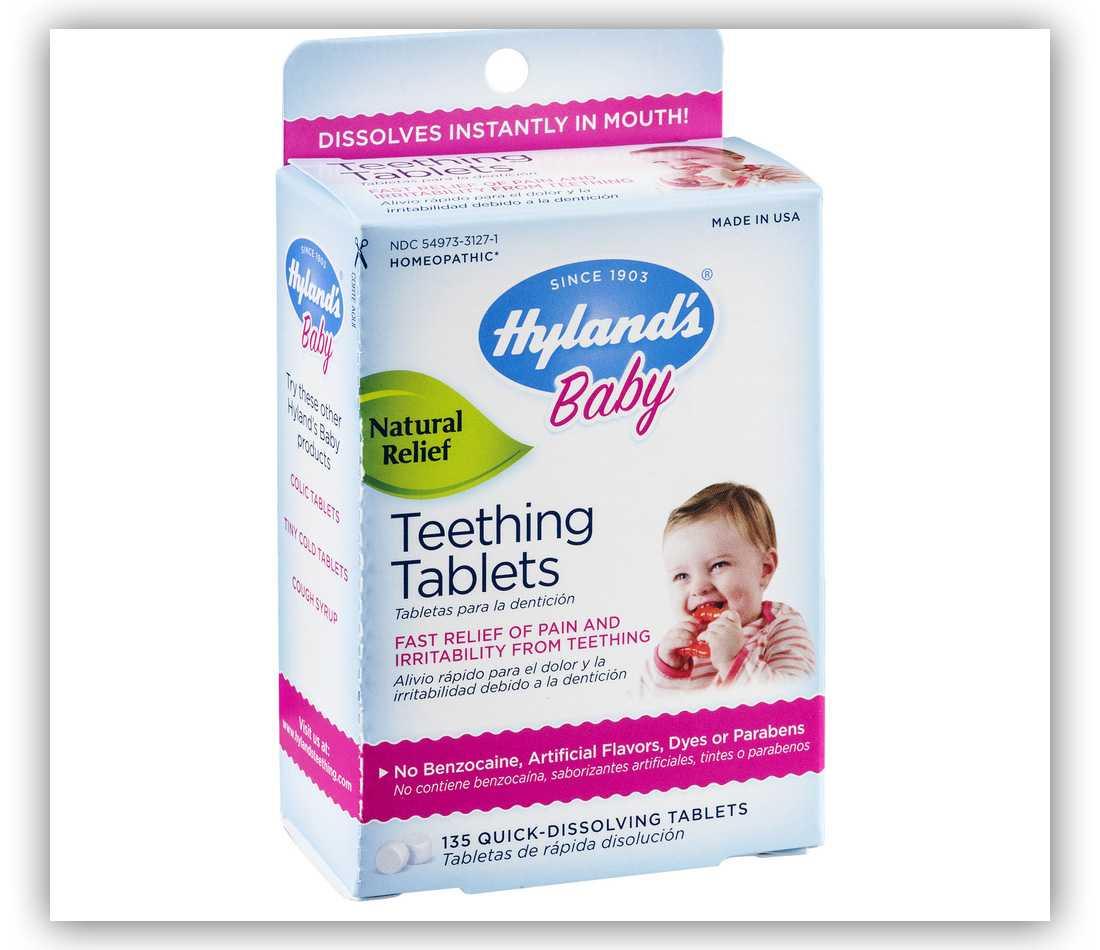 Опасность гомеопатии: hyland's baby teething tablets