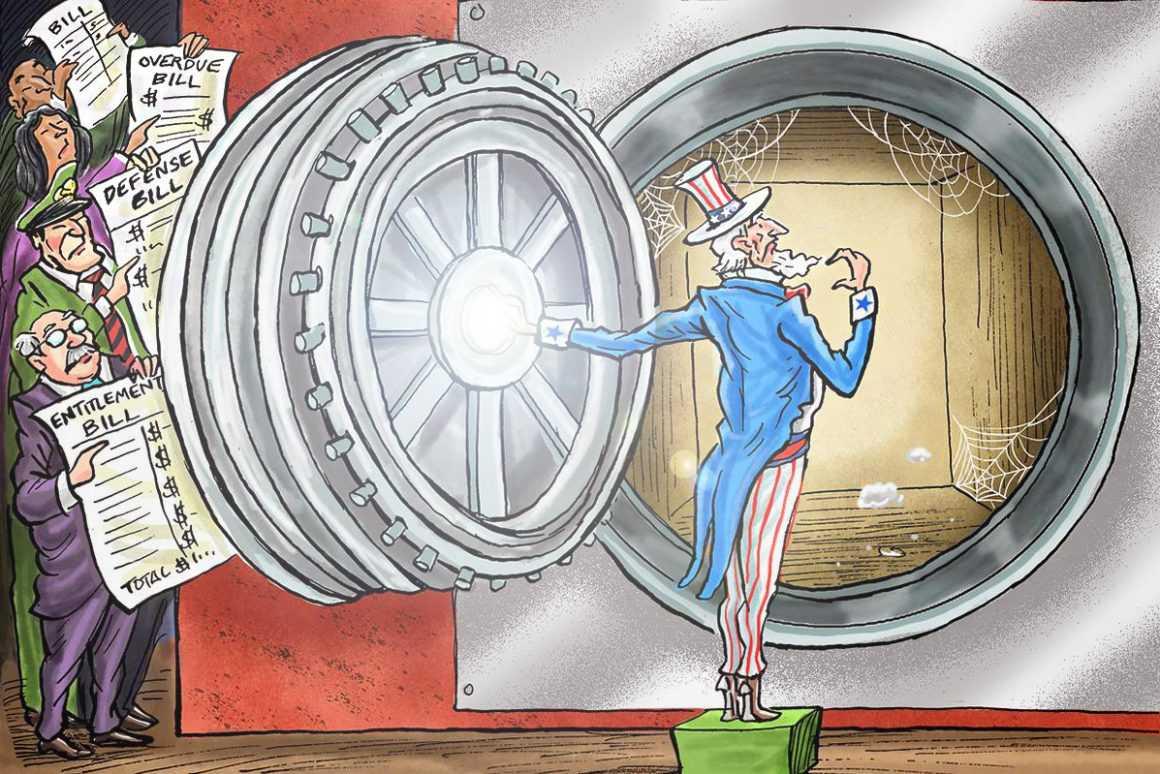 Сколько составляет государственный долг США