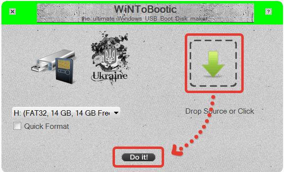 Как переместить Windows 10 на флешку: WinToBootic