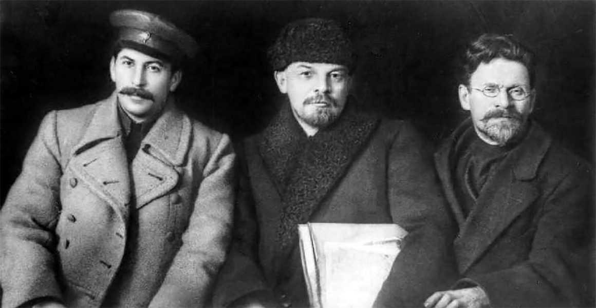 Сталин, Ленин и Калинин