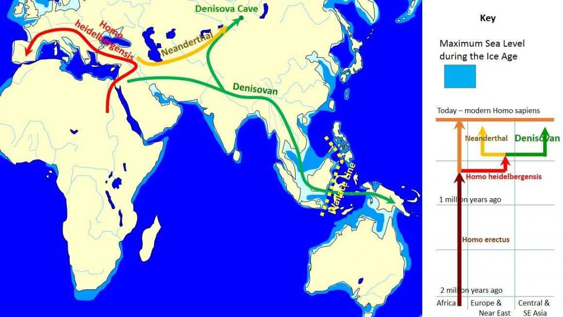 Где жили денисовцы