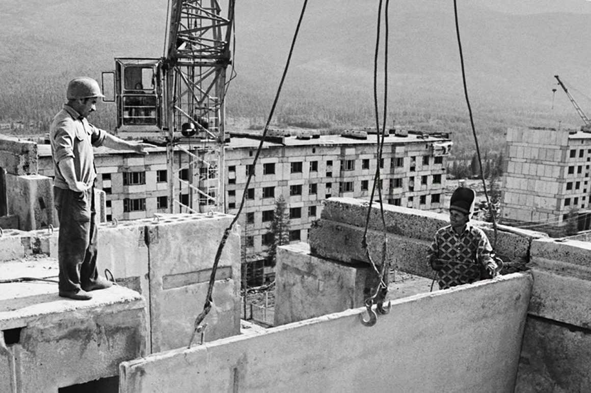 Жилищное строительство в СССР